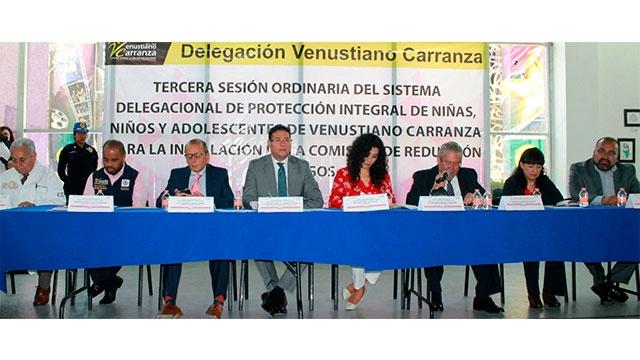 Comisión de reducción de riesgos en Venustiano Carranza punta de lanza para otras delegaciones: SIPINNA CDMX