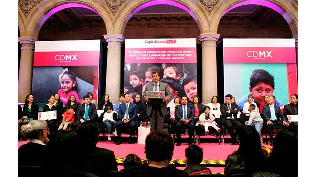 Construye GCDMX modelo referente para el cuidado de la niñez