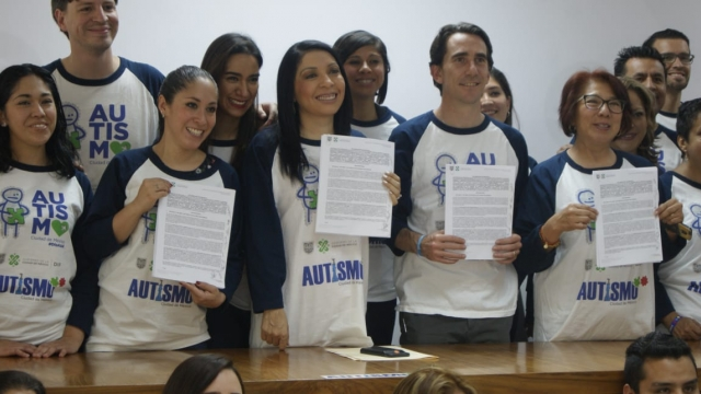 DIF de la Ciudad de México y Organizaciones Civiles, presentan la Primera Plataforma online hacia la detección del Autismo en la CDMX y firma de convenio transversal