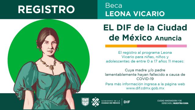 Registro Beca Leona Vicario