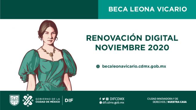 RENOVACIÓN DIGITAL LEONA VICARIO 2020